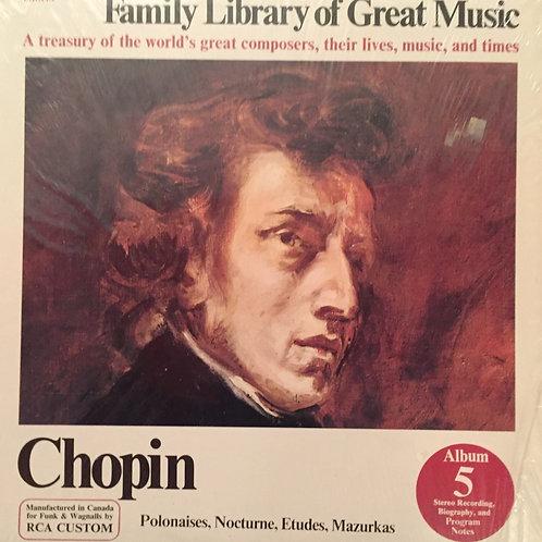Chopin – Polonaises, Nocturne, Etudes, Mazurkas