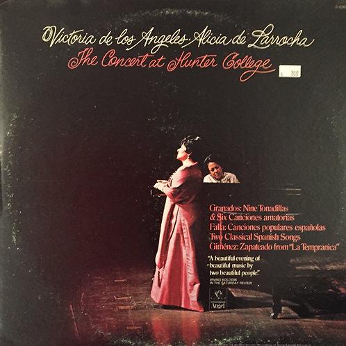 Victoria De Los Angeles, Alicia De Larrocha – The Concert At Hunter College