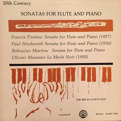 Compilation -  20th Century Sonatas For Flute And Piano