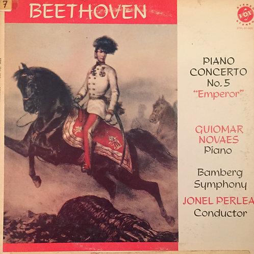 Beethoven / Guiomar Novaes, Jonel Perlea, Bamberg Symphony – Piano Concerto