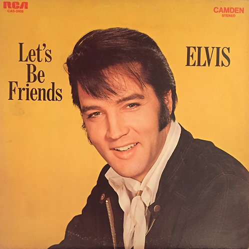 Elvis ‎– Let's Be Friends