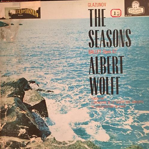 Glazunov :Concerts Du Conservatoire De Paris Albert Wolff –  The Seasons, Op.67