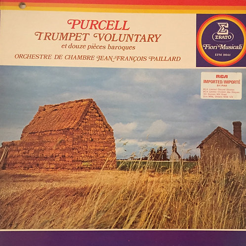 Purcell Trumpet voluntary- OP de chambre Jean-François Paillard
