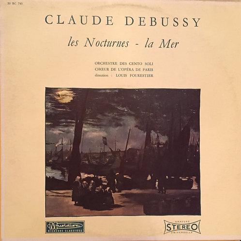 Debussy - Des Cento Soli - Choeur De L'Opéra De Paris - Louis Fourestier -