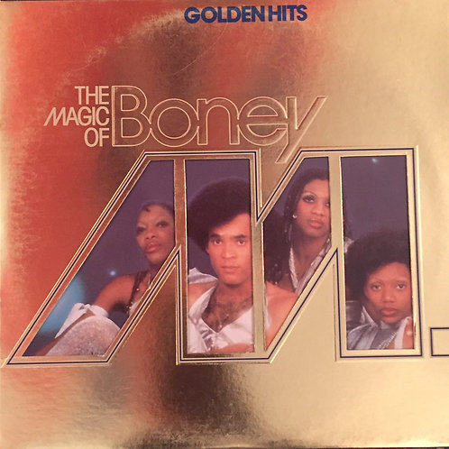Boney M. ‎– The Magic Of Boney M. - Golden Hits