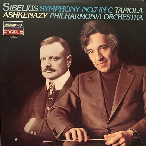 Sibelius -Philharmonia Orchestra, Vladimir Ashkenazy – Symphony No.7 / Tapiola