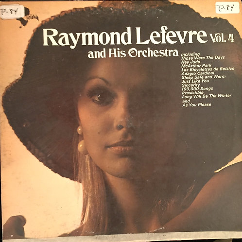Raymond Lefevre And His Orchestra ‎– Raymond Lefevre And His Orchestra Volume