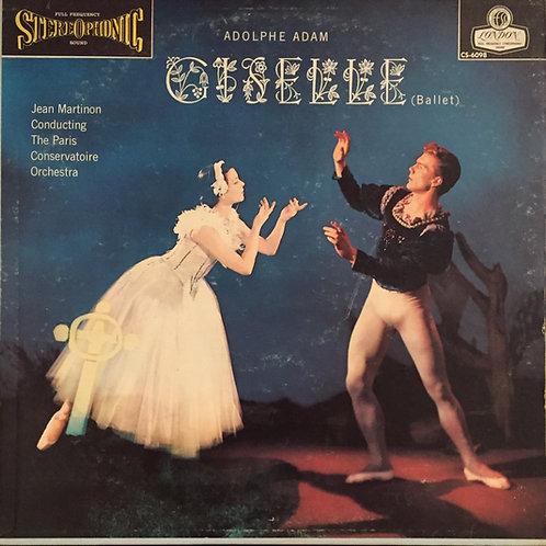 Adam, Martinon, Paris Conservatoire Orchestra – Giselle (Ballet)