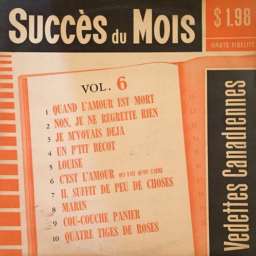 Succès Du Mois, Vol.6