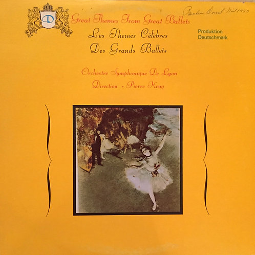 Orchestre De Lyon ‎– Great Themes From Great Ballets