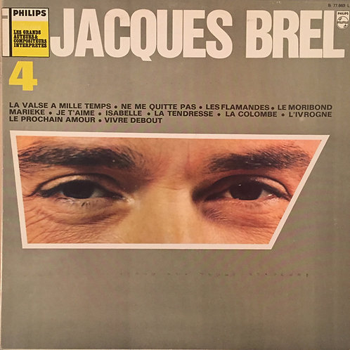 Jacques Brel – N° 4 / Les Grands Auteurs & Compositeurs Interpretes