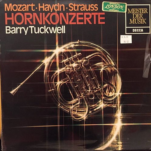 Barry Tuckwell – Hornkonzerte