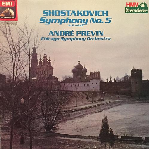 Shostakovich, Chicago Symphony Orchestra, André Previn – Symphony No. 5