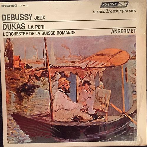 Ernest Ansermet, L'Orchestre De La Suisse Romande – Debussy Jeux Dukas La Peri