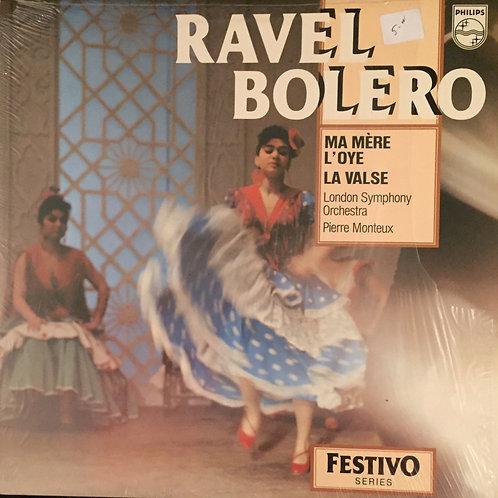 Ravel, Monteux, London SO – Boléro, Ma Mère L'Oye, La Valse