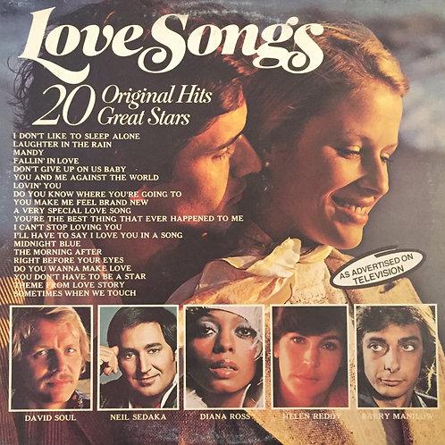 Compilation – Love Songs 20 Original Hits 20 Great Stars
