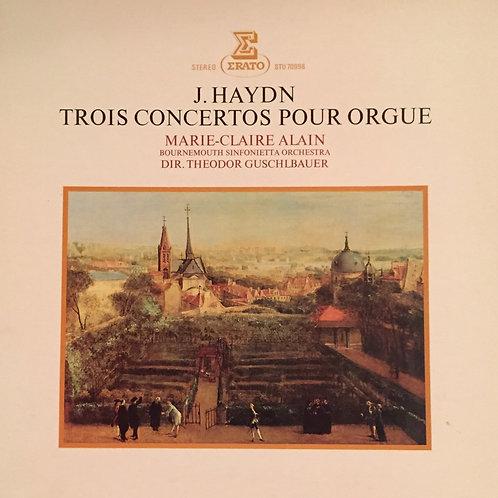 Haydn, Alain / Bournemouth Sinfonietta Orchestra – Trois Concertos Pour Orgue