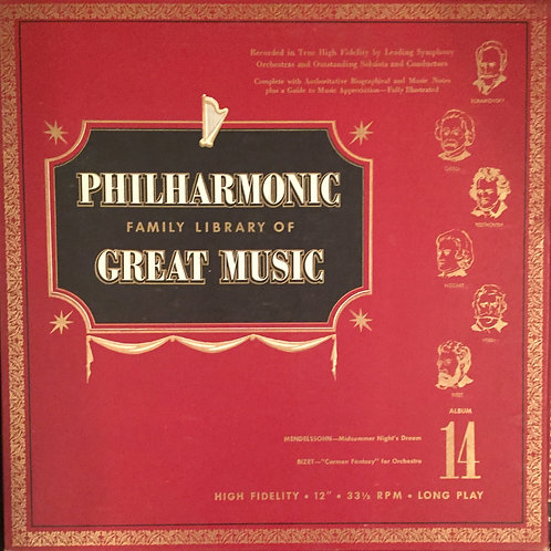 Philharmonic Family Library Of Great Music Album14