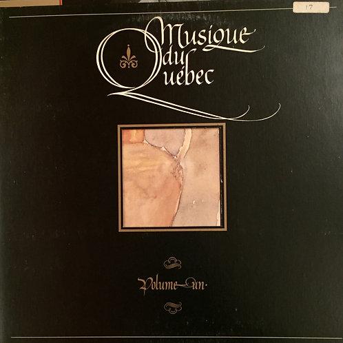 Musique Du Québec - Volume Un
