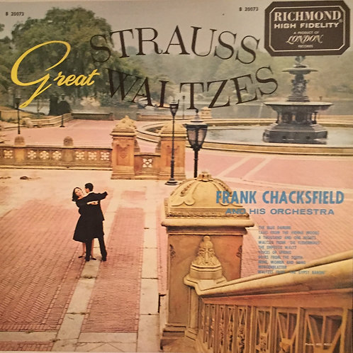 Frank Chacksfield & His Orchestra ‎– Great Strauss Waltzes