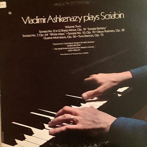 Vladimir Ashkenazy, Alexander Scriabine – Vladimir Ashkenazy Plays Scriabin Vol