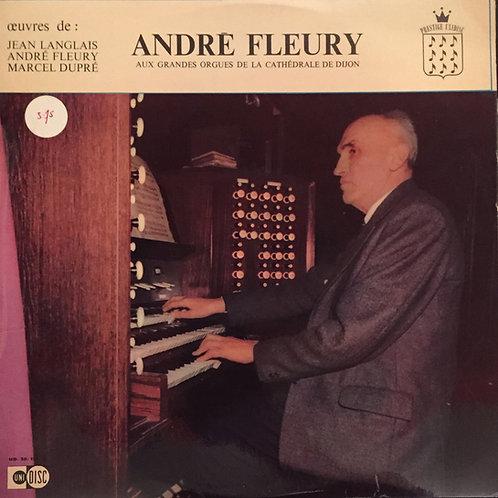 André Fleury – André Fleury aux grandes orgues de la cathédrale de Dijon