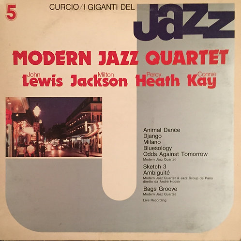 Modern Jazz Quartet, Lewis, Jackson, Heath, Kay ‎– I Giganti Del Jazz Vol. 5