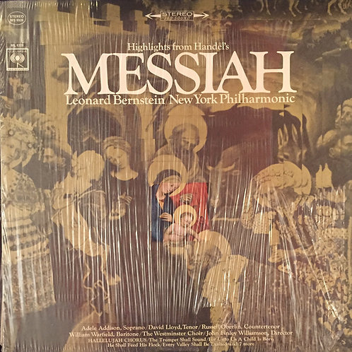 Leonard Bernstein / New York Philharmonic – Highlights From Handel's Messiah