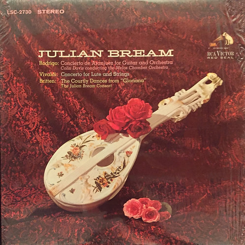 Julian Bream ‎– Concierto De Aranjuez For Guitar And Orchestra