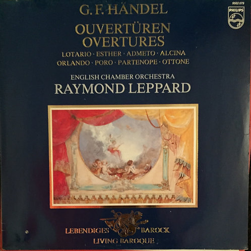 Georg Friedrich Händel, Raymond Leppard, English Chamber Orchestra – Ouvertüre