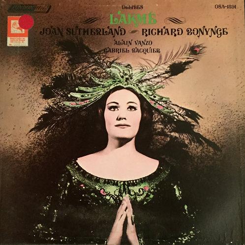 Léo Delibes, Joan Sutherland, Alain Vanzo, Gabriel Bacquier, The Monte Carlo Op