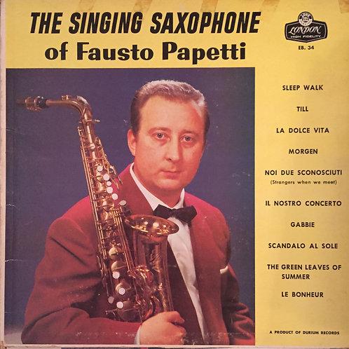 Fausto Papetti – The Singing Saxophone Of Fausto Papetti