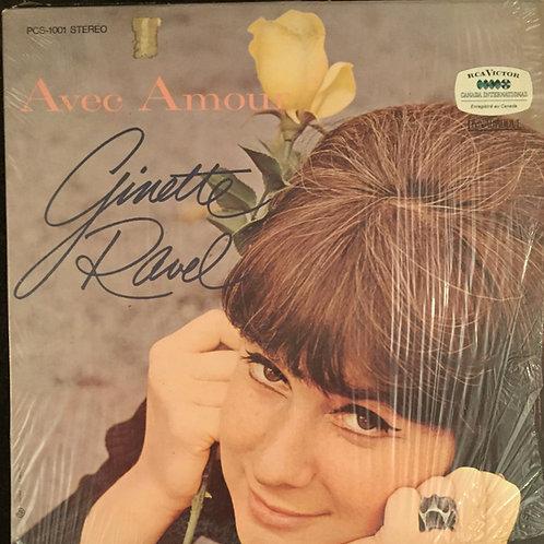 Ginette Ravel – Avec Amour
