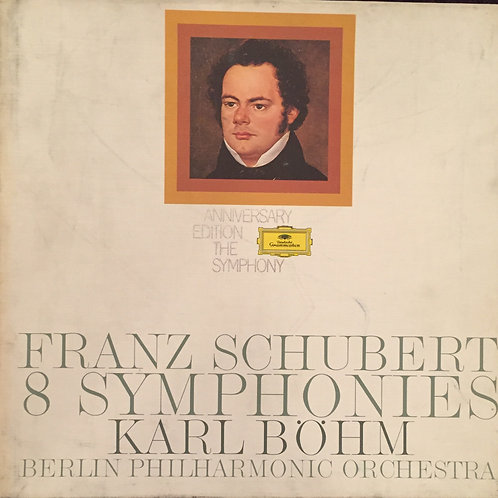 Franz Schubert / Karl Böhm / Berlin Philharmonic Orchestra– 8 Symphonies