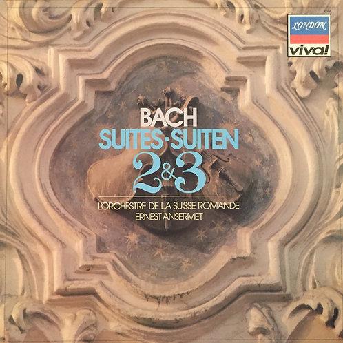 Bach, Ansermet, L'Orchestre De La Suisse Romande – Suites No.2&3