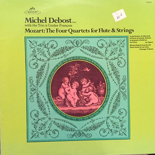 Michel Debost, Trio A Cordes Francais – Mozart: The Four Quartets For Flute