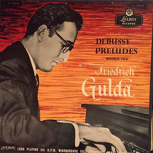 Friedrich Gulda – Debussy Preludes Books 1 & 2