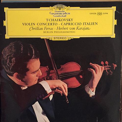 Tschaikowsky – Ferras, Karajan - Berliner Philharmoniker – Violinkonzert Op. 35