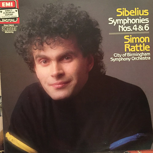 Sibelius, Rattle, Birmingham Symphony Orchestra – Symphonies N4-6