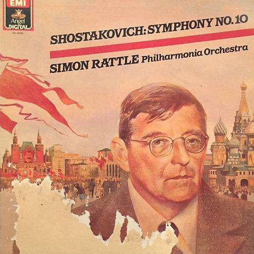 Shostakovich, Sir Simon Rattle, Philharmonia Orchestra – Symphony No. 10