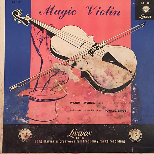 Wandy Tworek Med Ronald Binge Og Hans Orkester ‎– Magic Violin