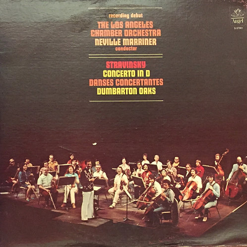 Strawinsky, Los Angeles Chamber Orchestra, Neville Marriner – Concerto In D