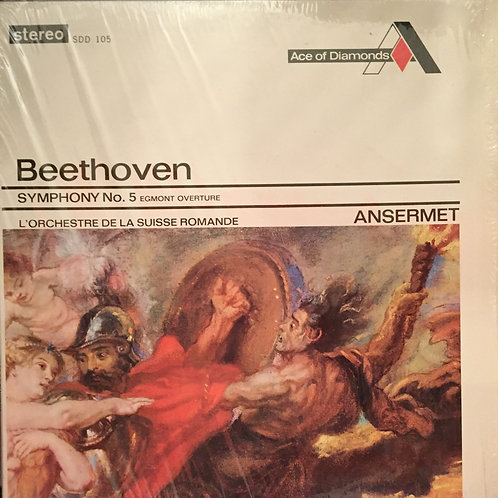 Beethoven - Ernest Ansermet & L'Orchestre De La Suisse Romande – Symphony No.5