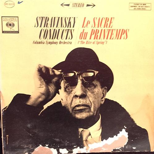Stravinsky Conducts Columbia Symphony Orchestra - Le Sacre Du Printemps