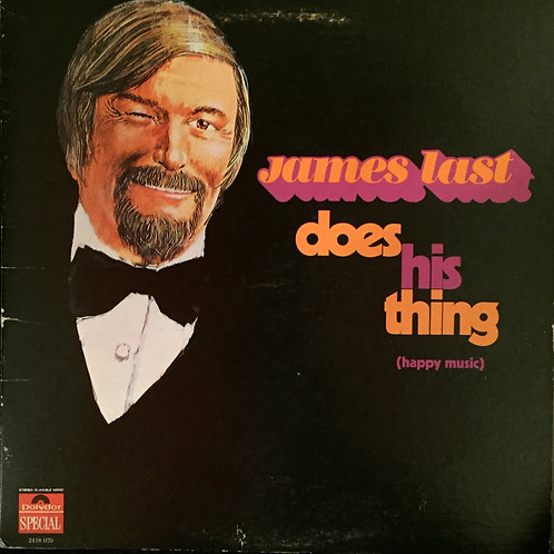 James Last ‎– Does His Thing (Happy Music)