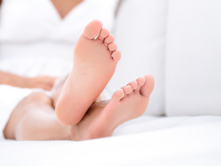 Menopausal and Peri-Menopausal Feet.