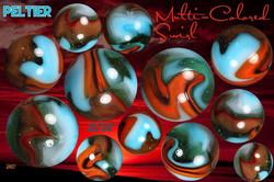 Multi Colored Swirl