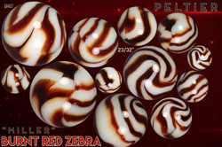 Miller Burnt Red Zebra