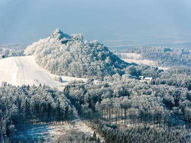 Tolštejn v zimě