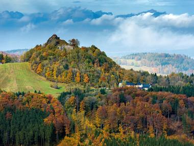 Tolštejn na podzim